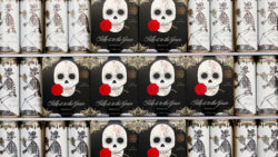 Photo: Cans with skull label