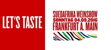 Save the date: Südafrika Tasting in Frankfurt