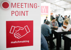 Foto: Matchmaking Meeting Point auf der ProWein