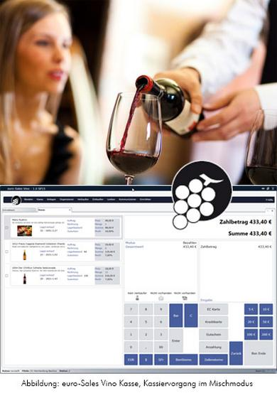 Screenshot euro-Sales Vino Kasse
