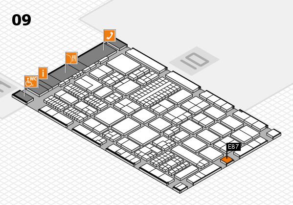 ProWein 2017 Hallenplan (Halle 9): Stand E87