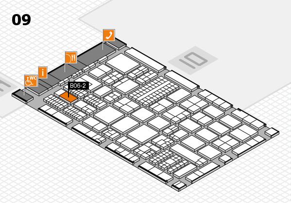 ProWein 2017 hall map (Hall 9): stand B06-2