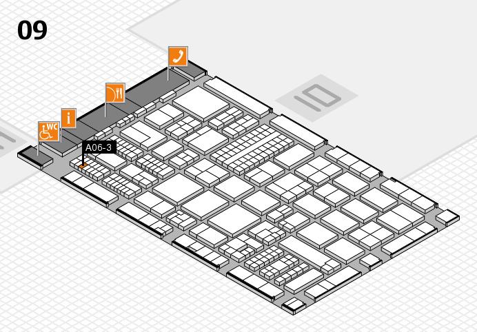 ProWein 2017 Hallenplan (Halle 9): Stand A06-3
