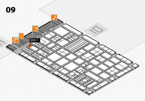 ProWein 2017 Hallenplan (Halle 9): Stand B06-1