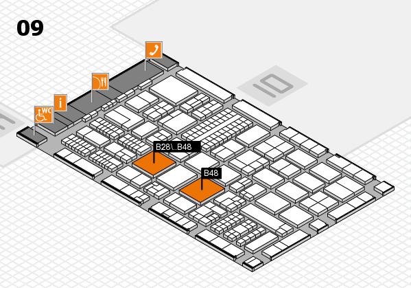 ProWein 2017 Hallenplan (Halle 9): Stand B28, Stand B48