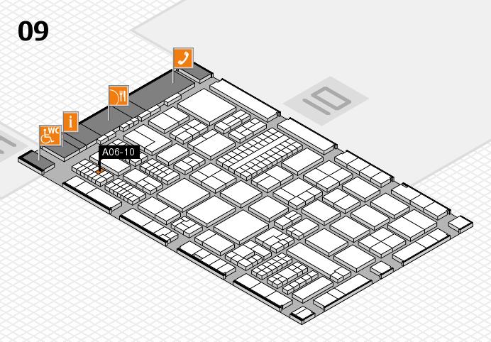 ProWein 2017 Hallenplan (Halle 9): Stand A06-10