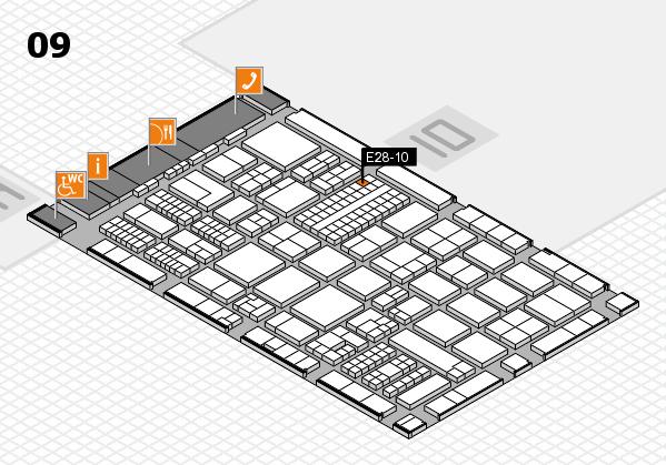 ProWein 2017 Hallenplan (Halle 9): Stand E28-10