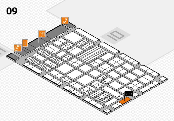 ProWein 2017 Hallenplan (Halle 9): Stand C87