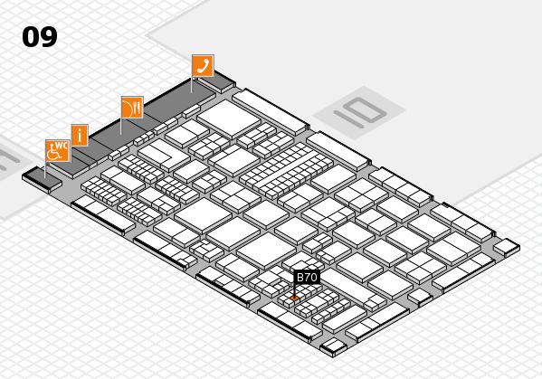 ProWein 2017 Hallenplan (Halle 9): Stand B70