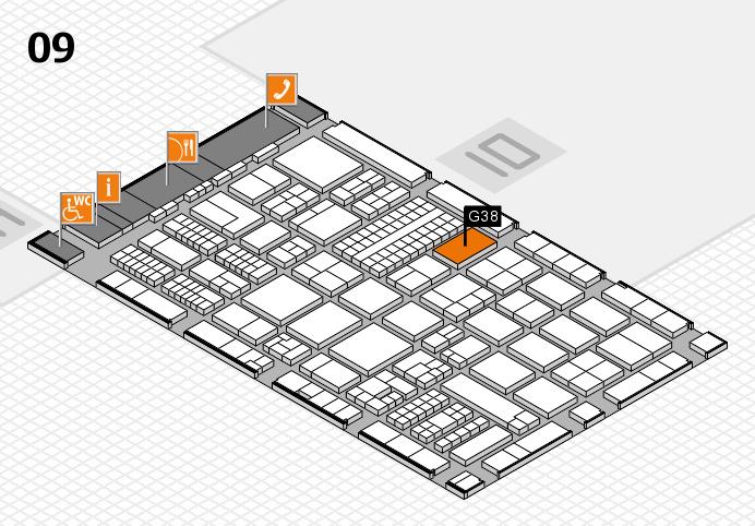 ProWein 2017 Hallenplan (Halle 9): Stand G38-11