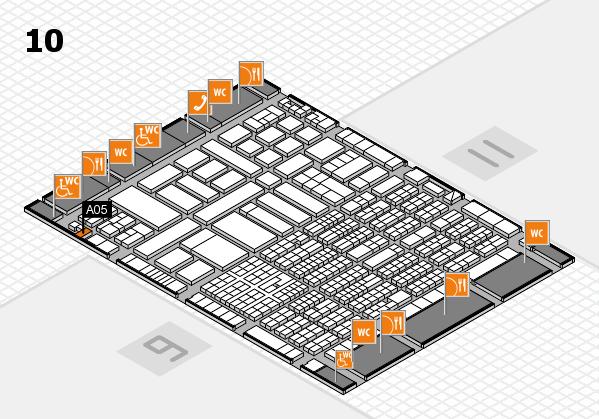 ProWein 2017 Hallenplan (Halle 10): Stand A05