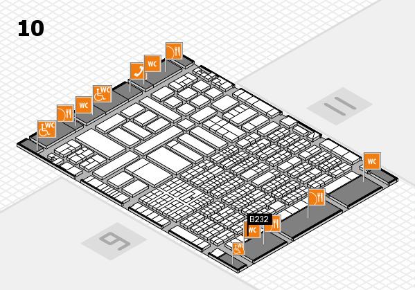 ProWein 2017 Hallenplan (Halle 10): Stand B232