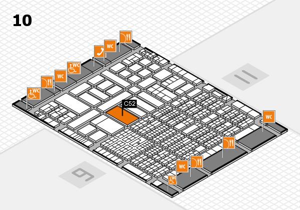 ProWein 2017 Hallenplan (Halle 10): Stand C52