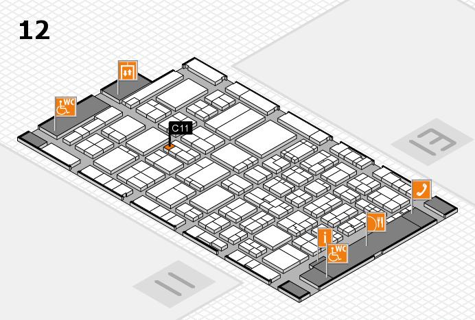ProWein 2017 Hallenplan (Halle 12): Stand C11