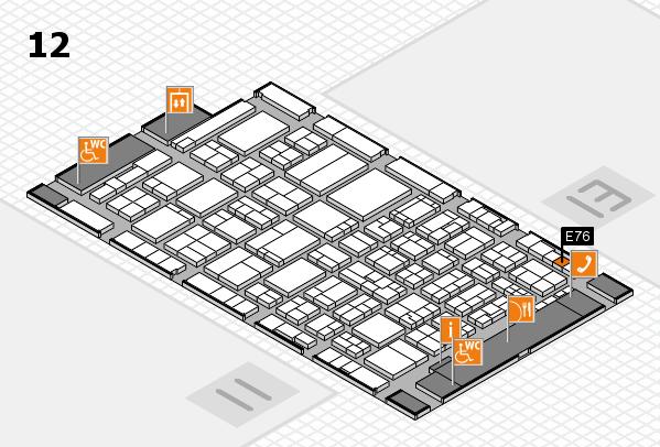 ProWein 2017 Hallenplan (Halle 12): Stand E76