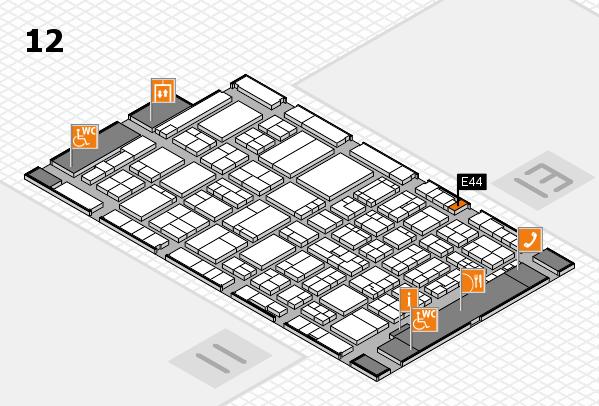 ProWein 2017 Hallenplan (Halle 12): Stand E44