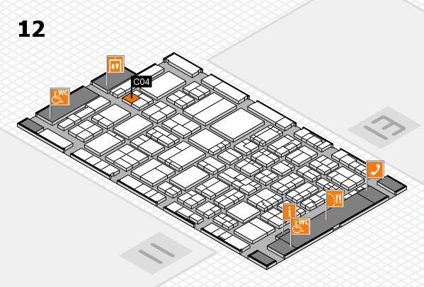 ProWein 2017 Hallenplan (Halle 12): Stand C04