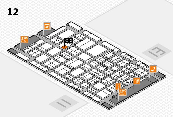ProWein 2017 Hallenplan (Halle 12): Stand C12