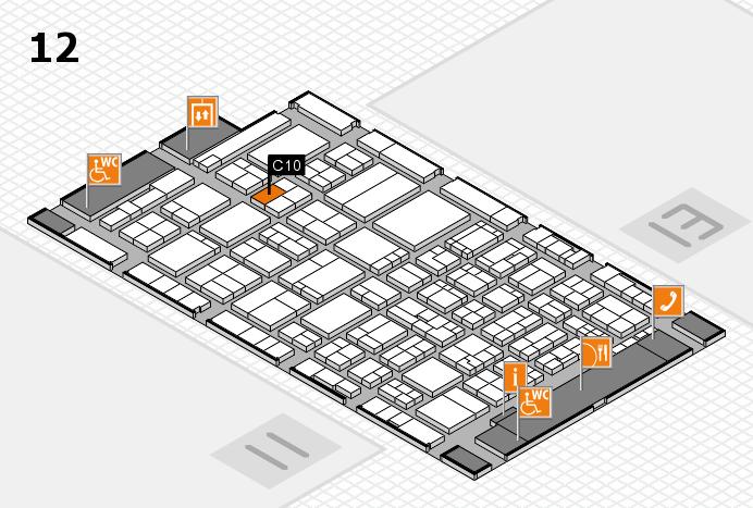 ProWein 2017 Hallenplan (Halle 12): Stand C10