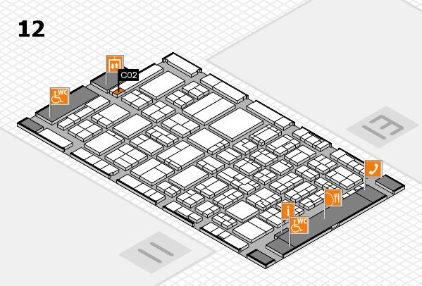 ProWein 2017 Hallenplan (Halle 12): Stand C02