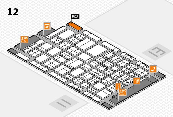 ProWein 2017 Hallenplan (Halle 12): Stand E02