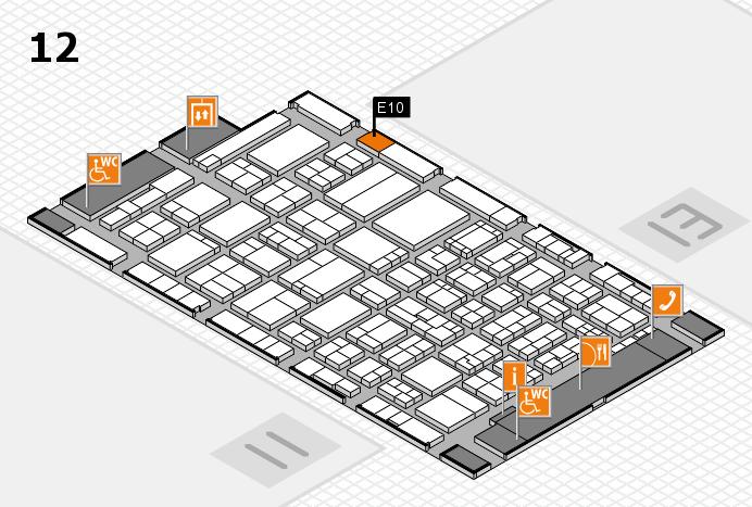 ProWein 2017 Hallenplan (Halle 12): Stand E10
