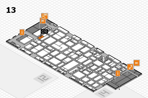 ProWein 2017 Hallenplan (Halle 13): Stand C10
