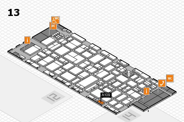 ProWein 2017 Hallenplan (Halle 13): Stand A109