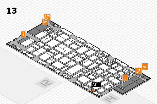 ProWein 2017 Hallenplan (Halle 13): Stand A111