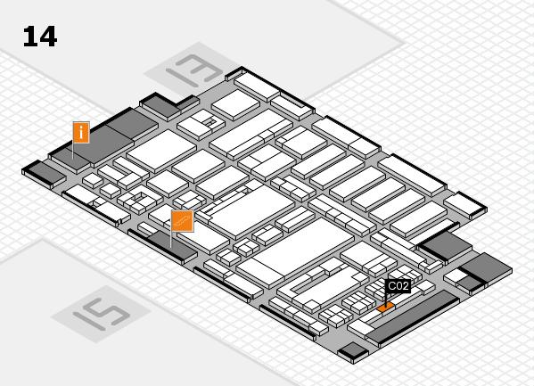 ProWein 2017 Hallenplan (Halle 14): Stand C02