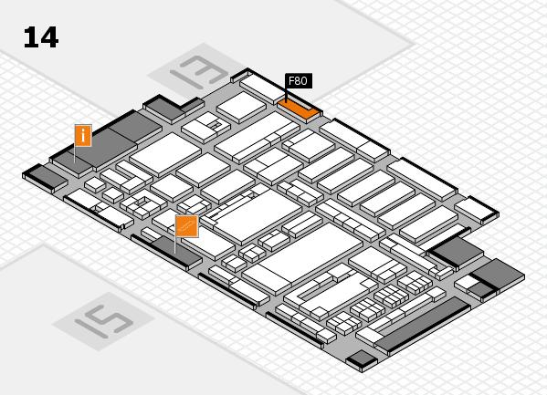 ProWein 2017 Hallenplan (Halle 14): Stand F80