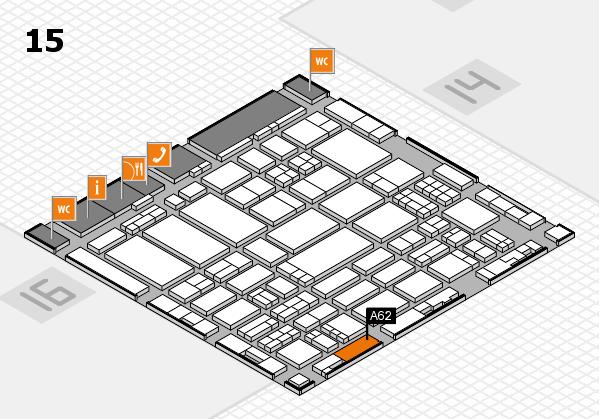 ProWein 2017 Hallenplan (Halle 15): Stand A62