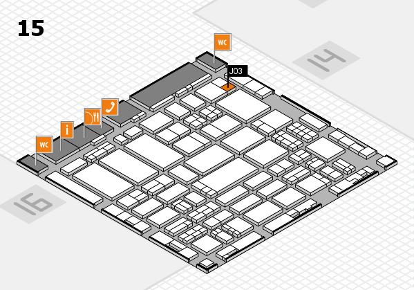 ProWein 2017 hall map (Hall 15): stand J03
