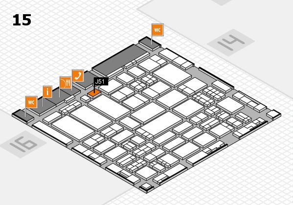 ProWein 2017 hall map (Hall 15): stand J51