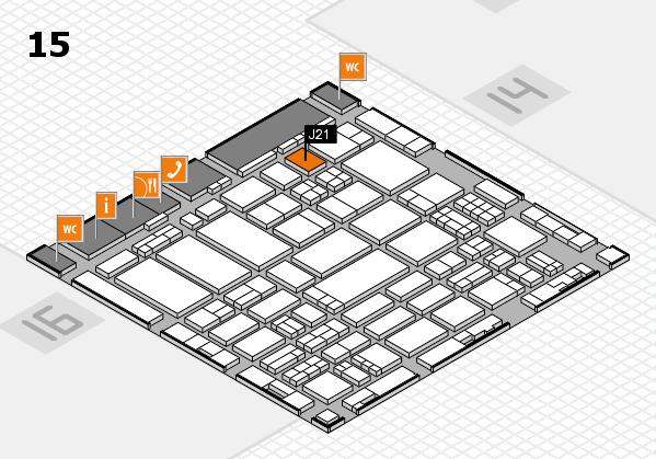 ProWein 2017 hall map (Hall 15): stand J21