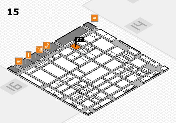 ProWein 2017 hall map (Hall 15): stand J37