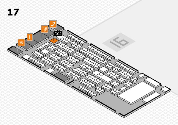 ProWein 2017 Hallenplan (Halle 17): Stand D02.5
