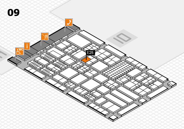 ProWein 2018 Hallenplan (Halle 9): Stand E28