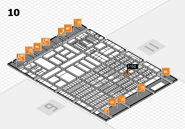 ProWein 2018 Hallenplan (Halle 10): Stand F152