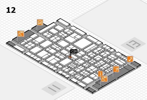ProWein 2018 Hallenplan (Halle 12): Stand C26