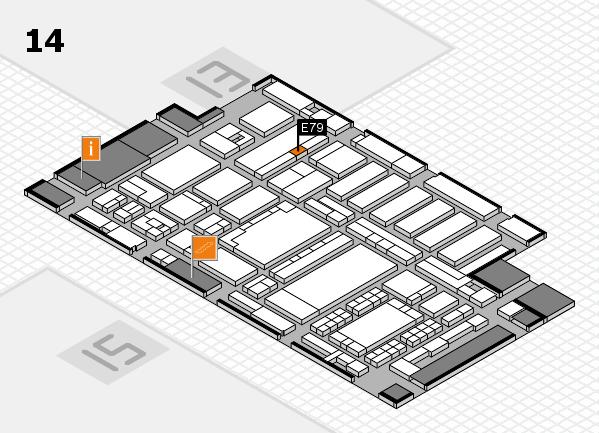 ProWein 2018 Hallenplan (Halle 14): Stand E79