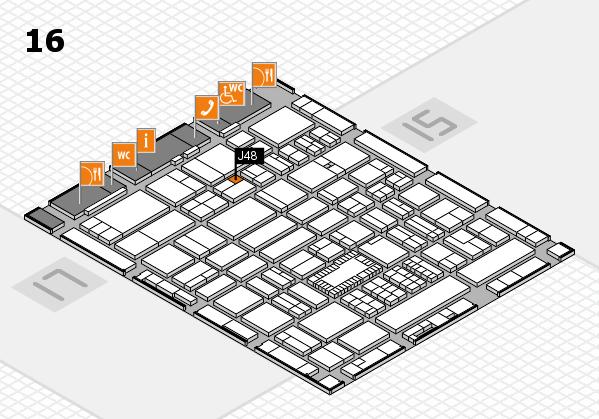 ProWein 2018 Hallenplan (Halle 16): Stand J48