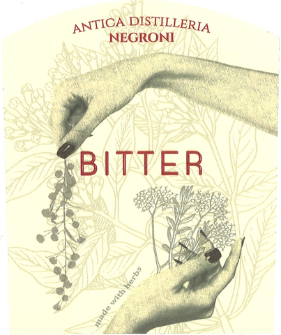 Bitter Nature front label
