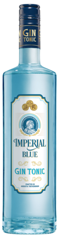 IMPERIAL BLUE GinTonic ready-to-drink