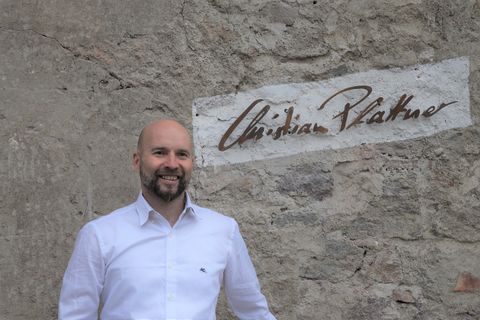Owner. Cellar man and wine grower Christian Plattner
