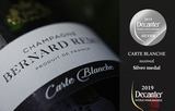 Decanter Silver Medal Champagne Bernard REMY Carte Blanche