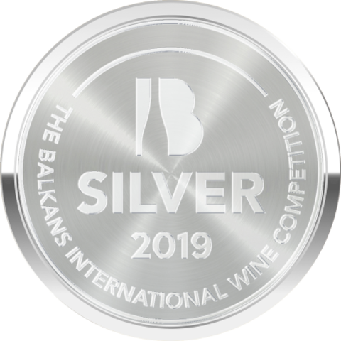 """8th Balkans International Wine Competition 2019, Silver Medal for """"two rivers"""" Kontoura white Barrique 2016"""