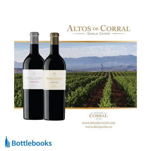 Bodegas Corral ALTOS DE CORRAL SINGLE ESTATE CRIANZA 2016